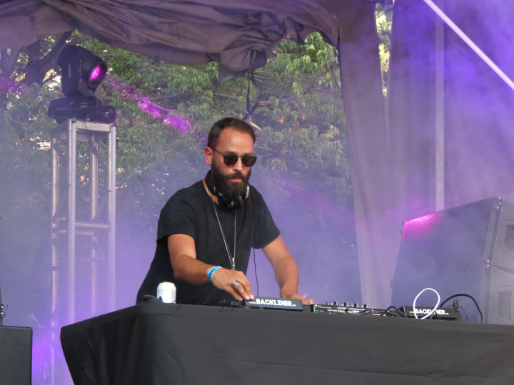 Swedish DJ and producer Jonas Rathsman put on an amazing set at TIME Festival featuring an hour of non-stop dance floor bangers. (Photo credit: Angela McLean)