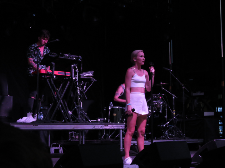 New Zealand duo Broods lived up to the buzz. (Photo credit: Angela McLean)