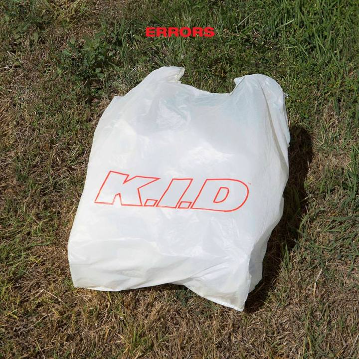 "The official single artwork for K.I.D's new release, ""Errors."""