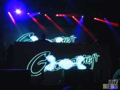 Grandtheft DJing at 6 Fest. (Photo credit: Angela McLean/RUtv News)