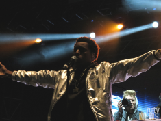 Brampton-born rapper Roy Woods dominates the 6 Fest stage. (Photo credit: Angela McLean/RUtv News)