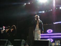 Local rising star dvsn entertained the packed 6 Fest crowd. (Photo star: Angela McLean/RUtv News)
