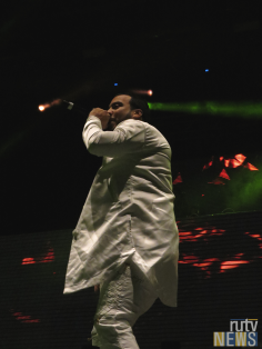 French Montana closes off 6 Fest. (Photo credit: Angela McLean/RUtv News)