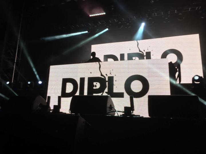 Diplo on stage at 6 Fest. (Photo credit: Nicole Di Donato/RUtv News)