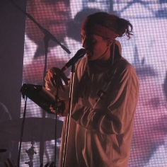 LANY frontman Paul Klein performs at the Mod Club Theatre in Toronto. (Photo credit: Angela McLean/RUtv News)