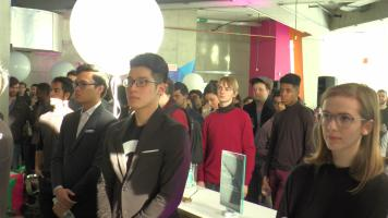 The Sandbox by DMZ launch brought out a great number of DMZ and Ryerson community members. (Photo credit: Anna Cianni/RUtv News)