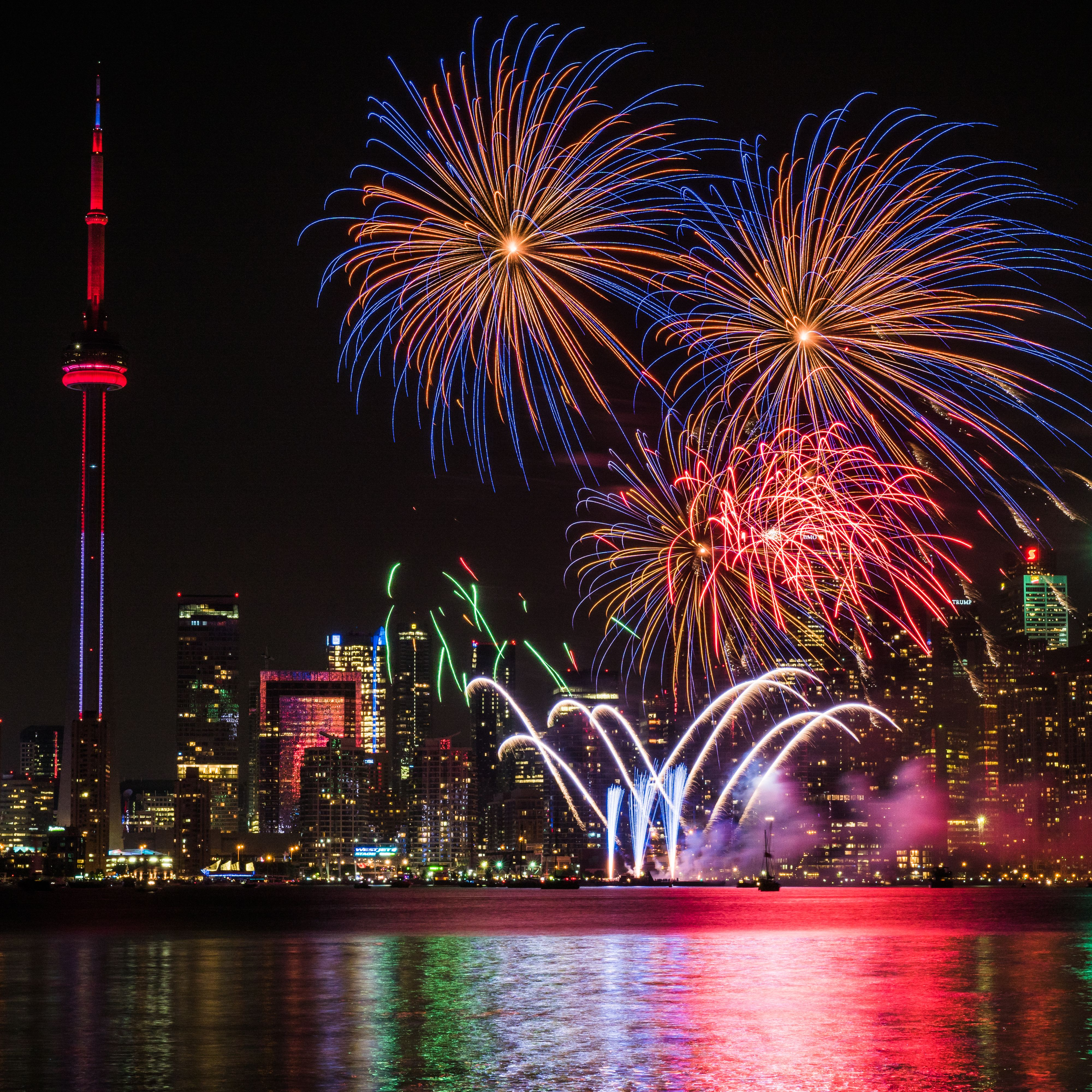 Six Places To See Fireworks Around Toronto This Canada Day