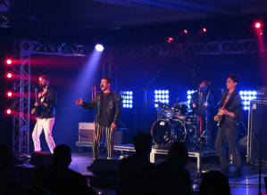 ROMES performing at the Canadian Radio Music Awards CMW