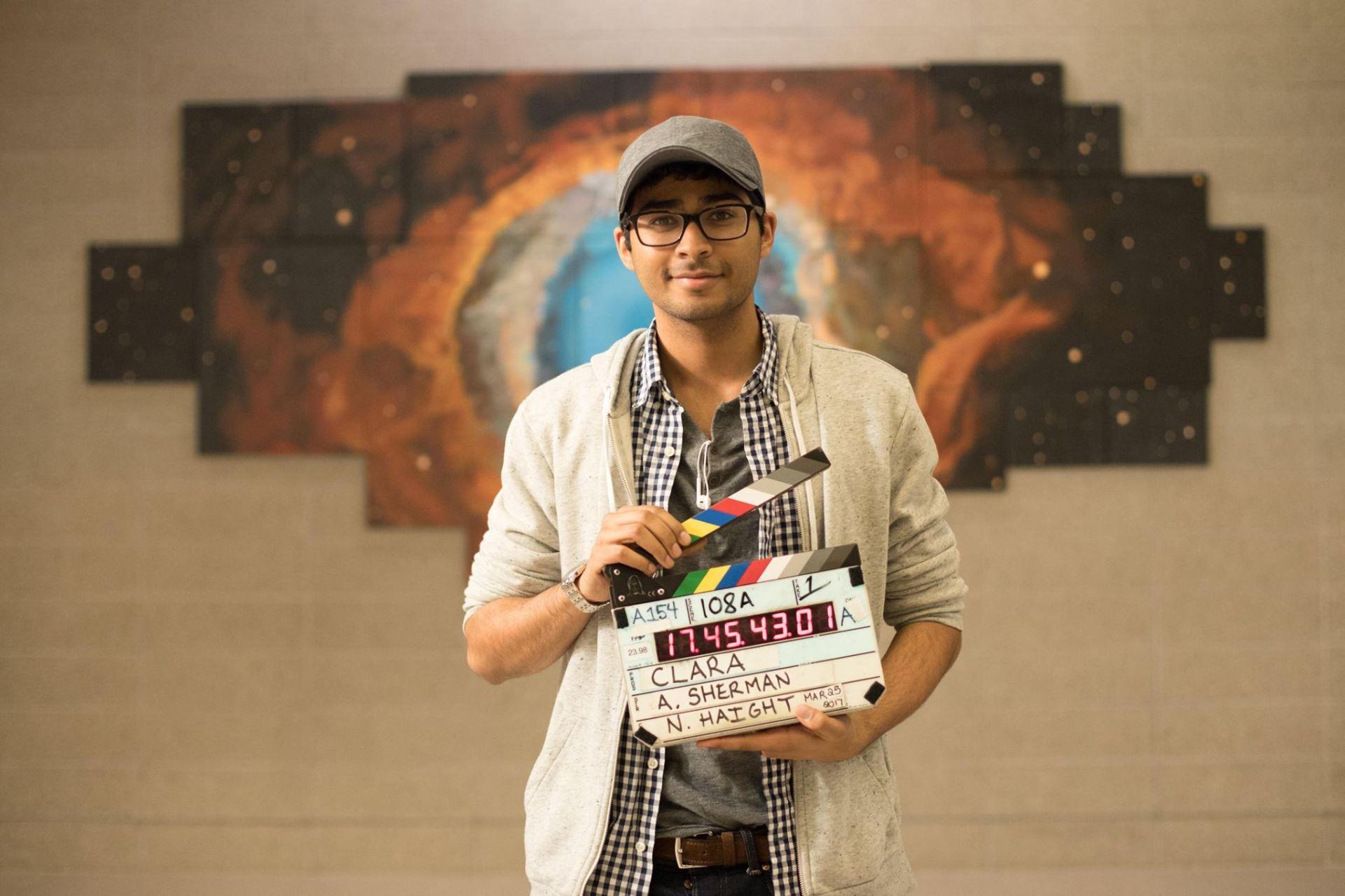 Akash Sherman, director of Clara