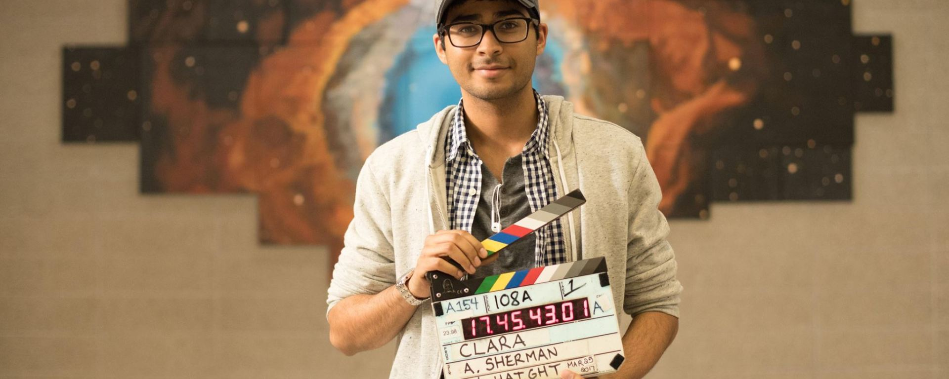 Akash Sherman, director of Clara
