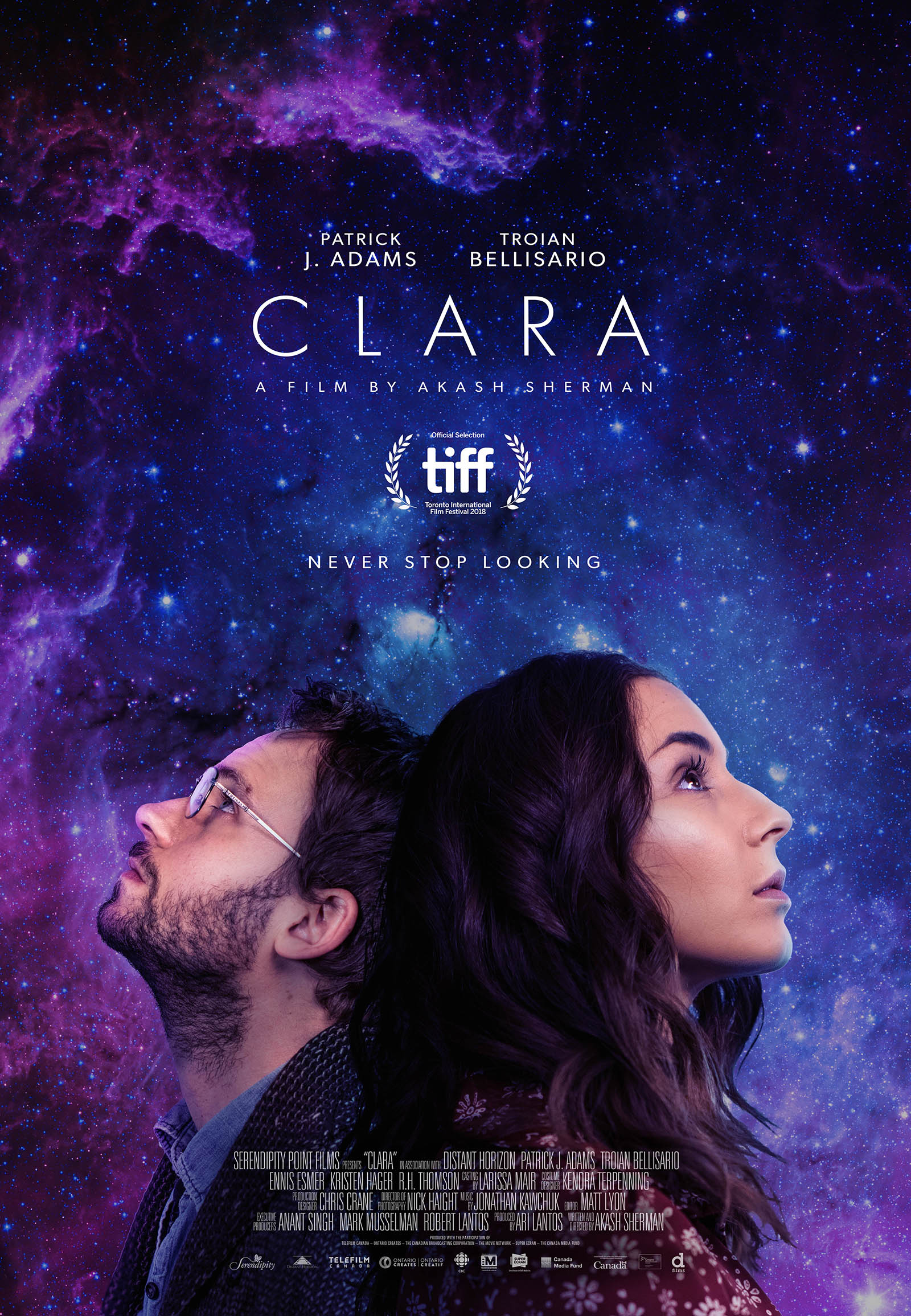 Poster for the film Clara
