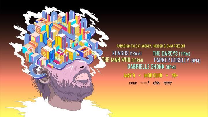 Paradigm Showcase with KONGOS CMW poster