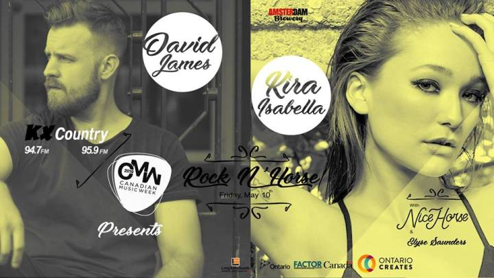 KXCountry Showcase CMW poster