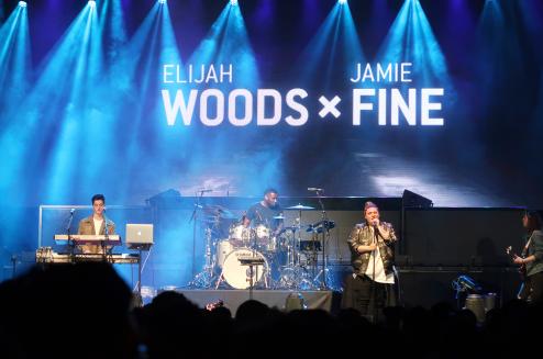 Elijah Woods x Jamie Fine - iHeartRadio FanFest