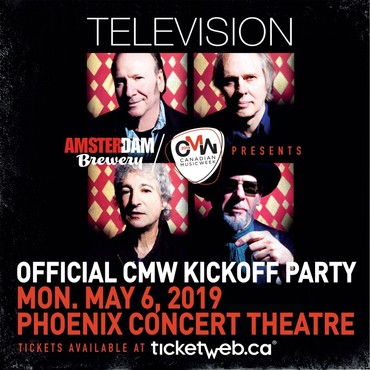 Official CMW 2019 Kickoff Party show poster